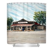 Whoa Tavern Shower Curtain