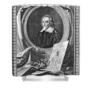 William Harvey (1578-1657) Shower Curtain