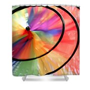 Wind Wheel Shower Curtain