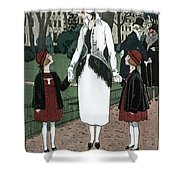 Women's Fashion, 1920 Shower Curtain