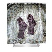 Woollen Socks Shower Curtain