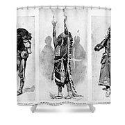 Wounded Knee, 1890 Shower Curtain