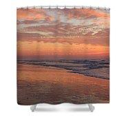 Wrightsville Beach At Sunrise Shower Curtain