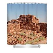 Wupatki Pueblo In Wupatki National Monument Shower Curtain