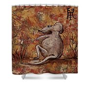 Year Of The Rat Shower Curtain