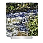 Yellowstone River Shower Curtain