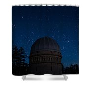 Yerkes Observatory Wisconsin Shower Curtain