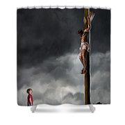 Yes Jesus Loves Me Shower Curtain