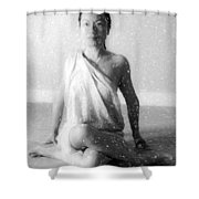 Yoga Shower Curtain