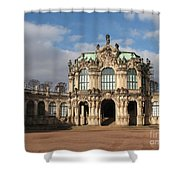 Zwinger - Dresden - Germany Shower Curtain