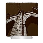 Brooklyn Bridge - New York City Shower Curtain