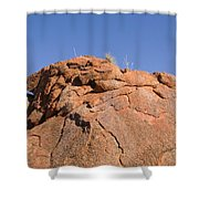 Devils Marbles  Karlu Karlu Shower Curtain