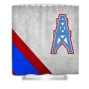 Houston Oilers Shower Curtain