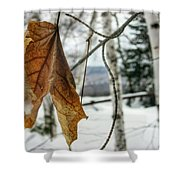 The Keweenaw's Message- Will You Listen? Shower Curtain