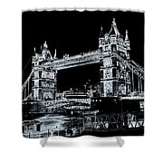 Tower Bridge Art Shower Curtain