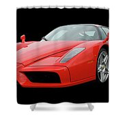 2002 Enzo Ferrari 400 Shower Curtain