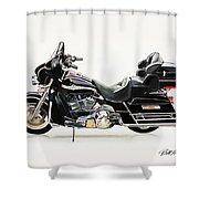 2003 Harley Davidson Shower Curtain