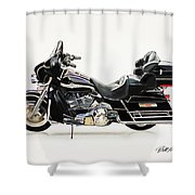 2003 Harley Davidson Shower Curtain
