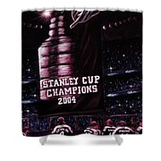 2004 Champs Shower Curtain
