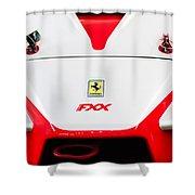 2005 Ferrari Fxx Evoluzione Hood Emblem Shower Curtain