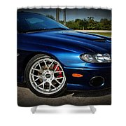 2005 Mbm Pontiac Gto Shower Curtain