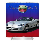 2006 Viper S R 10 Shower Curtain by Jack Pumphrey