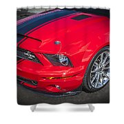 2007 Ford Mustang Shelby Gt500 427  Shower Curtain