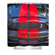 2007 Ford Shelby Gt 500 Mustang Shower Curtain