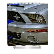 2008 Ford Mustang Shelby Grill Headlight Shower Curtain