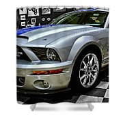 2008 Ford Mustang Shelby Shower Curtain
