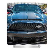 2008 Ford Shelby Mustang Gt500 Kr Painted Shower Curtain