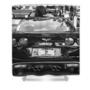 2010 Chevrolet Corvette Grand Sport Shower Curtain