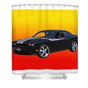 2010 Dodge Challenger Shower Curtain