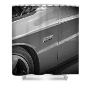 2011 Dodge Challenger Srt8 Hemi Bw  Shower Curtain
