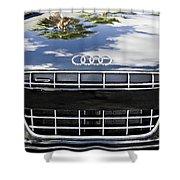 2012 Audi R8 Quattro Shower Curtain