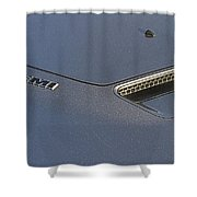 2012 Challenger Classic Dodge Shower Curtain