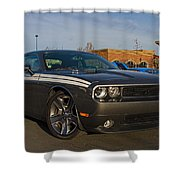 2012 Dodge Challenger R/t Classic Shower Curtain