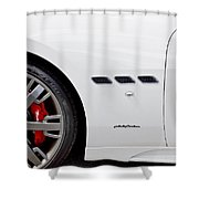 2012 Maserati Gran Turismo S Shower Curtain