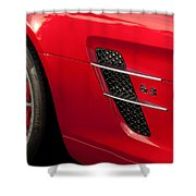 2012 Mercedes-benz Sls Gullwing Wheel Shower Curtain