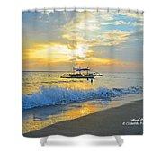 2013 12 26 02 A Sunset Shower Curtain