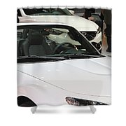 2013 Canadian International Autoshow Shower Curtain