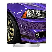 2013 Dodge Charger Headlight Shower Curtain