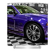 2013 Dodge Charger Shower Curtain