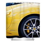 2013 Ferrari Shower Curtain