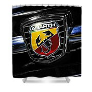 2013 Fiat 500 Abarth Shower Curtain