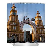 2013 Gateway To Feria De La Seville Shower Curtain
