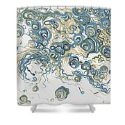 2013-santorini Shower Curtain