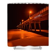 2014 02 06 01 A Okaloosa Island Pier 0195 Shower Curtain