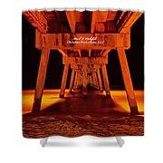 2014 02 06 01 Okalossa Island Pier 0213 Shower Curtain