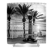 2014 11 11 01 B Bw Destin Pm 0306 Shower Curtain